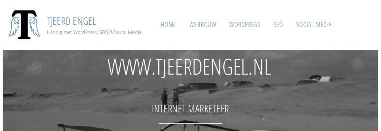 Tjeerd Engel | Handig met websites, webbouw, WordPress, SEO & Social Media