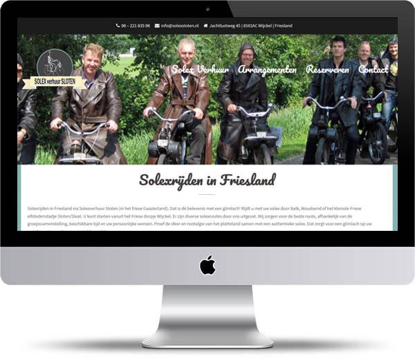 Website Solex Sloten
