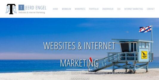 Portfolio Tjeerd Engel | WordPress websites & SEO